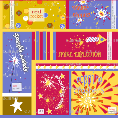 VINTAGE FIREWORK PACKAGES