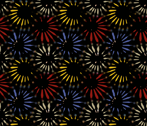 Pyrotechnics fabric by shirayukin on Spoonflower - custom fabric