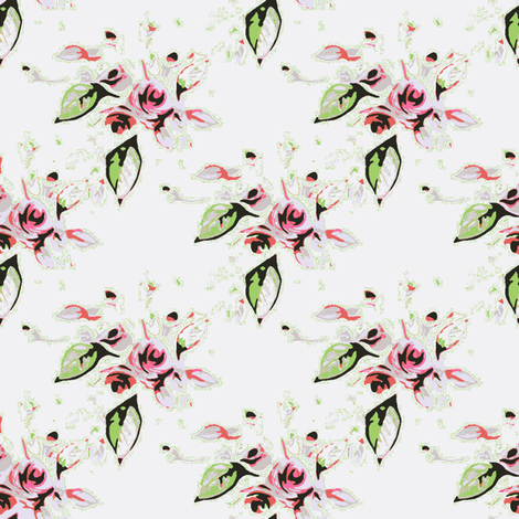Roses  fabric by joanmclemore on Spoonflower - custom fabric