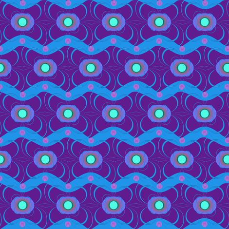 TV is Hypnotic fabric by eclectic_house on Spoonflower - custom fabric