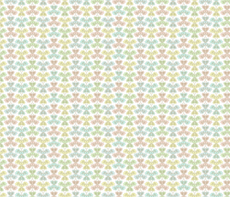 butterfly pastels fabric by glimmericks on Spoonflower - custom fabric