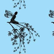 Silhouette_fairy_on_tree_branch_on_blue_shop_thumb