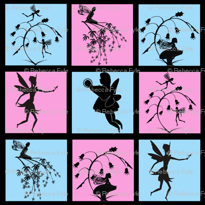 Silhouette_fairy_Patchwork