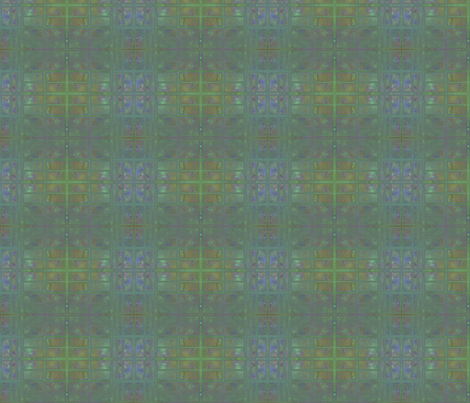 First Frost Abstract Small © Gingezel™ 2012 fabric by gingezel on Spoonflower - custom fabric