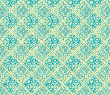 Lattice fabric by joanmclemore on Spoonflower - custom fabric