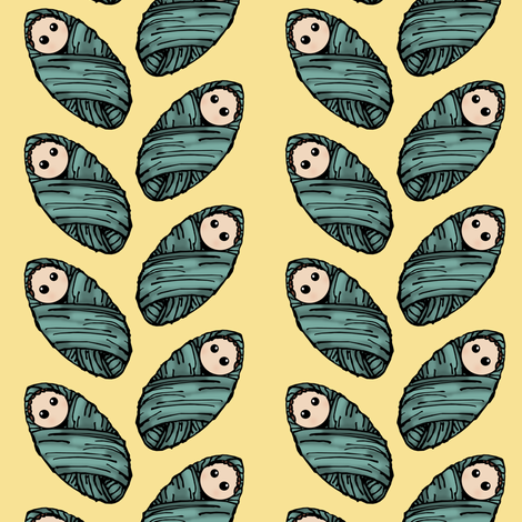 Baby Boy fabric by pond_ripple on Spoonflower - custom fabric