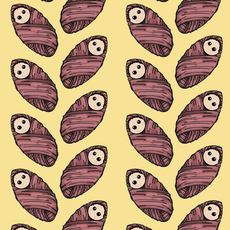 Baby Girl fabric by pond_ripple on Spoonflower - custom fabric