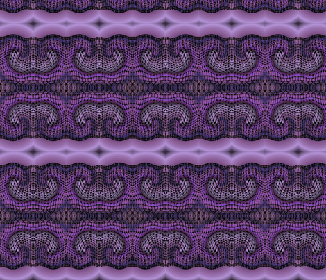 purple_zentangle_warped fabric by vinkeli on Spoonflower - custom fabric