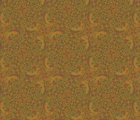 © 2011 Rusty Caravan fabric by glimmericks on Spoonflower - custom fabric