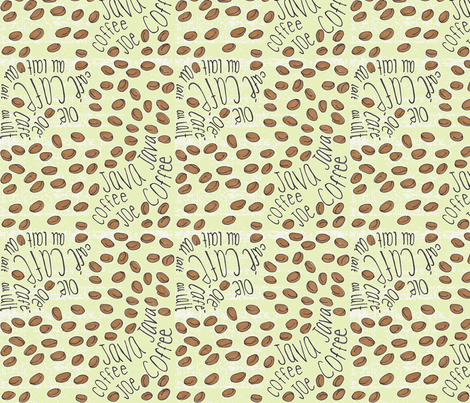 cafe_coffee_3-ch fabric by common_thread_designs on Spoonflower - custom fabric