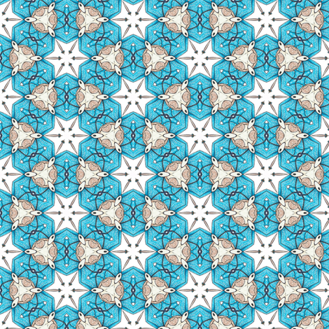 Ridorius's Stars fabric by siya on Spoonflower - custom fabric