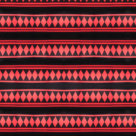jussi_salmiak_squares_black_and_red fabric by vinkeli on Spoonflower - custom fabric