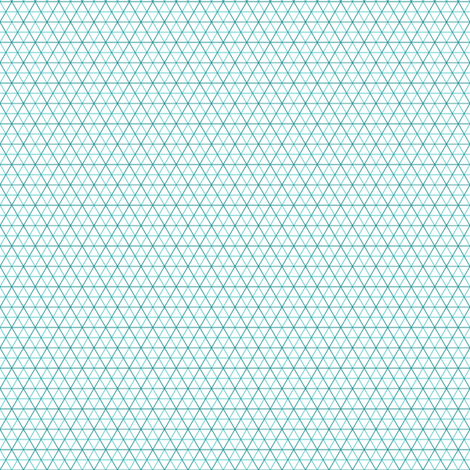 isometric or triangle cm graph fabric by sef on Spoonflower - custom fabric