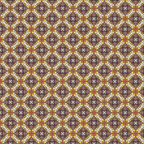 Ambriel's Medallions fabric by siya on Spoonflower - custom fabric