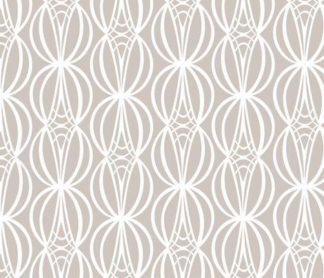 HOURGLASS - Pebble fabric by lovedove on Spoonflower - custom fabric