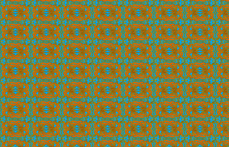 Red on Blue Celtic Knot Greyhounds ©2011 by Jane Walker fabric by artbyjanewalker on Spoonflower - custom fabric