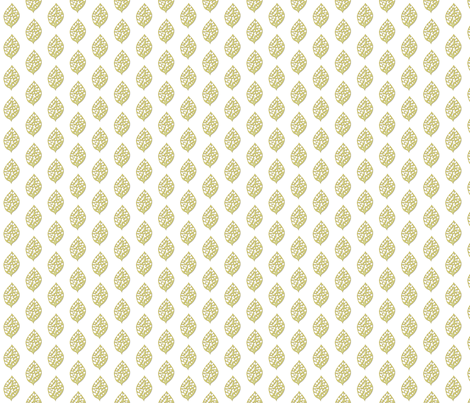 © 2011 Gold Leaf fabric by glimmericks on Spoonflower - custom fabric