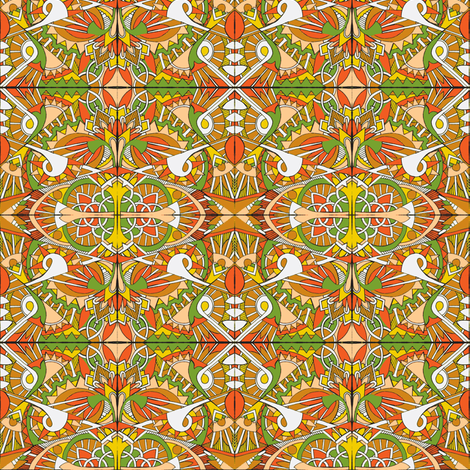 In Deco We Harvest fabric by edsel2084 on Spoonflower - custom fabric