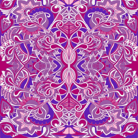 Girlieque fabric by edsel2084 on Spoonflower - custom fabric