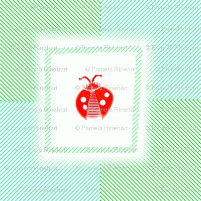 © 2011 Ladybug Retro Red