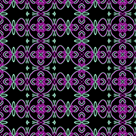 butterfly squares fabric by heikou on Spoonflower - custom fabric