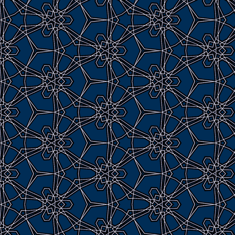 starlines fabric by heikou on Spoonflower - custom fabric