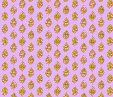 © 2011 Autumn Glow Leaf fabric by glimmericks on Spoonflower - custom fabric