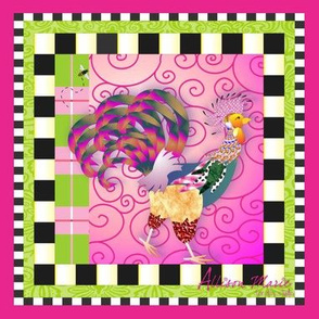 Swirly Rooster
