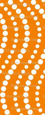Dotterflies - orange dot coordinate