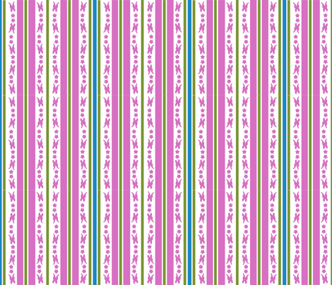 Butterfly Stripes fabric by eerie_doll on Spoonflower - custom fabric