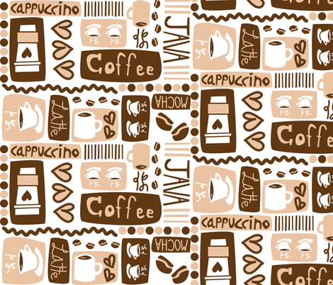 Java Java Java! fabric by robyriker on Spoonflower - custom fabric