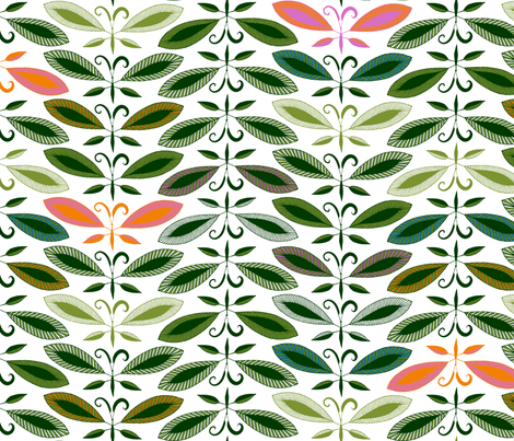 Butterleaf Tree fabric by spellstone on Spoonflower - custom fabric