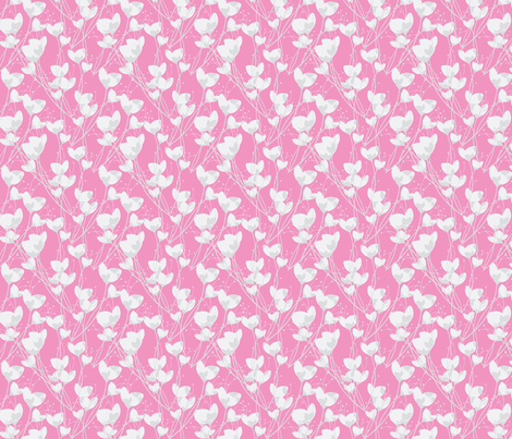 Pink Primrose fabric by joanmclemore on Spoonflower - custom fabric
