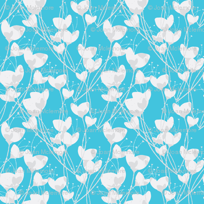 Primrose Blue background