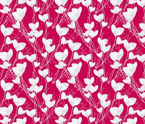 Primrose Red Background