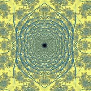 Blue-gold Spiral