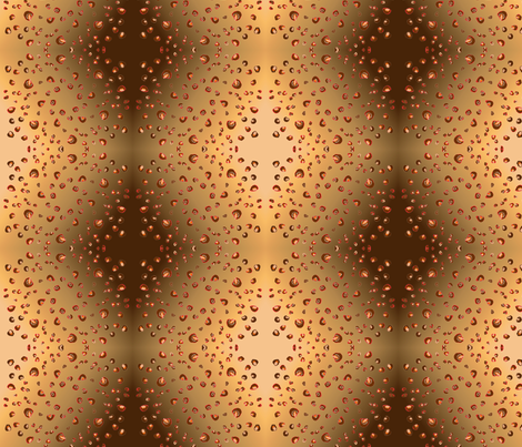 lepard_spots_circle fabric by vinkeli on Spoonflower - custom fabric