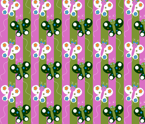 Butterfly_Fun fabric by writefullysew on Spoonflower - custom fabric