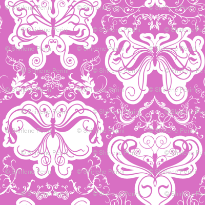 Damask_butterflies
