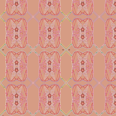 Grapefruit Stitch fabric by david_kent_collections on Spoonflower - custom fabric