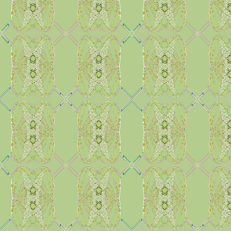 Key Lime Stitch fabric by david_kent_collections on Spoonflower - custom fabric