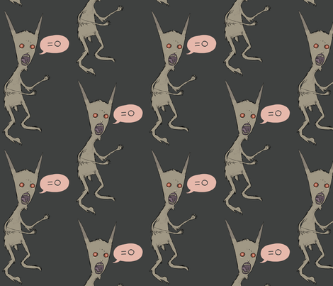 monster fabric by buffy_sunders on Spoonflower - custom fabric