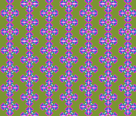 Butterfly Kaleidoscope fabric by ninjaauntsdesigns on Spoonflower - custom fabric