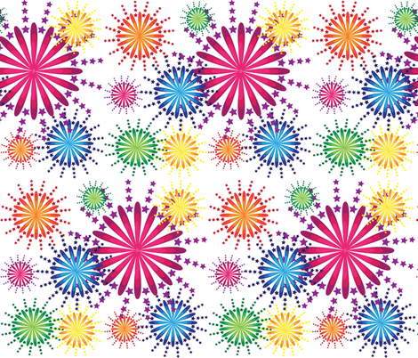 pretty sparkles fabric by jlwillustration on Spoonflower - custom fabric
