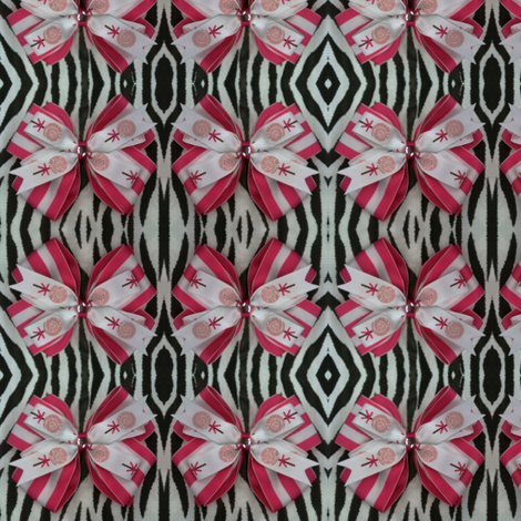 Lollipop Bow fabric by monkey_delights on Spoonflower - custom fabric