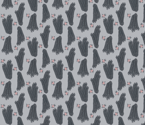 © 2011 Blue Yew fabric by glimmericks on Spoonflower - custom fabric