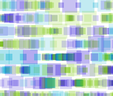 Mint grape stained glass fabric by sol on Spoonflower - custom fabric
