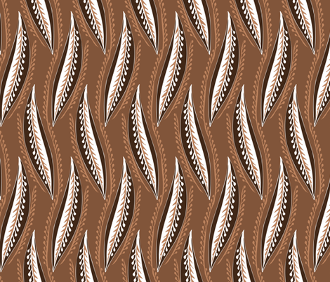 listky fabric by renule on Spoonflower - custom fabric