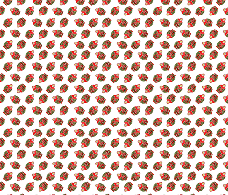 poupée_russe_dance_rouge_XS fabric by nadja_petremand on Spoonflower - custom fabric
