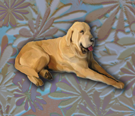 Spanish Mastiff Fat Quarter fabric by dogdaze_ on Spoonflower - custom fabric